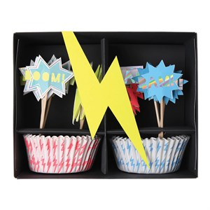 Super Hero cupcake Kit (24lü)