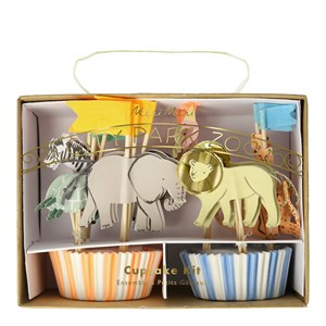 Safari Cupcake Kit (24lü)