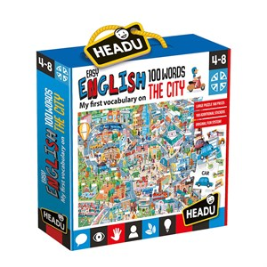 HEADU EASY ENGLISH 100 WORDS CITY (4-8 YAŞ)