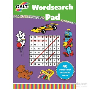Wordsearch Pad 5 Yaş+